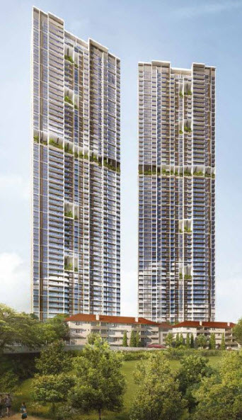 The Watergardens at Canberra Condo by UOL Group and Kheng Leong